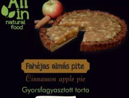 Fahéjas almás pite