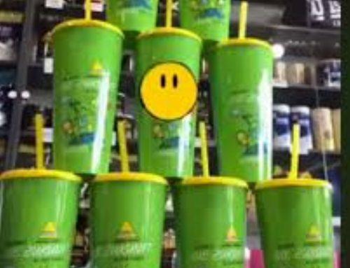 Zöldülj Velünk! Inkospor zöld pohár