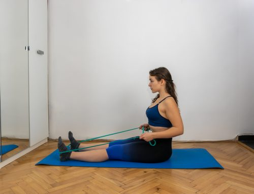 Erősítő gyakorlatok gumiszalaggal